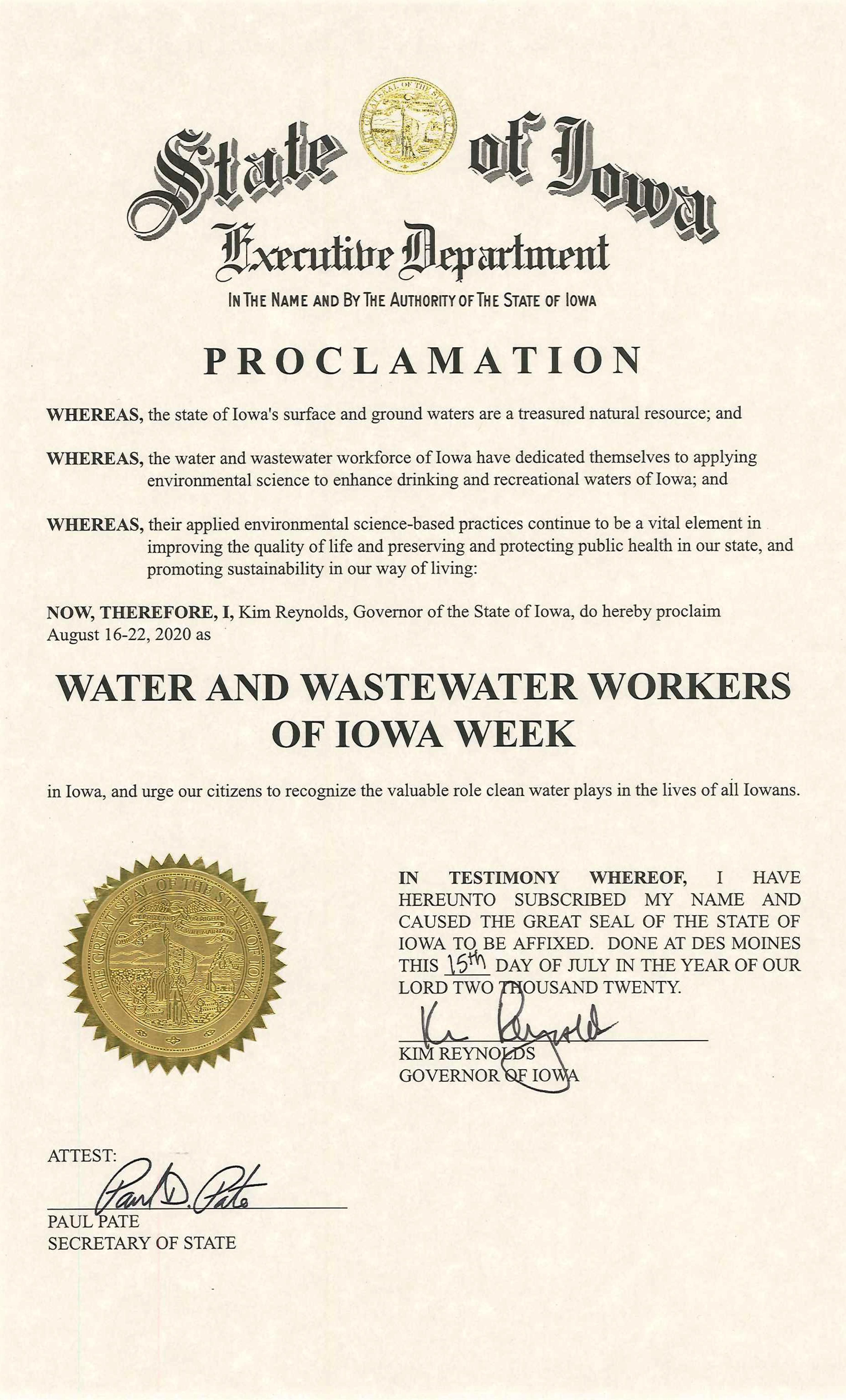 W/WW Worker Week